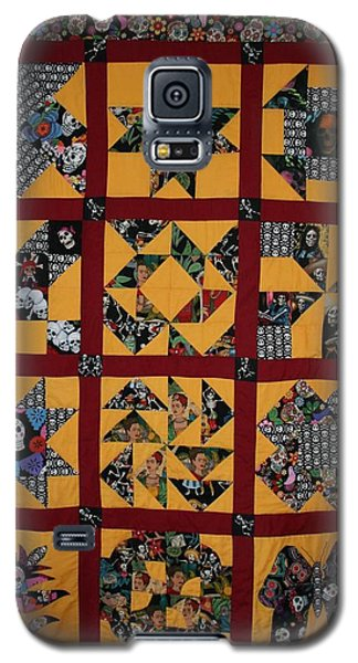 Frida Quilt Galaxy S5 Case