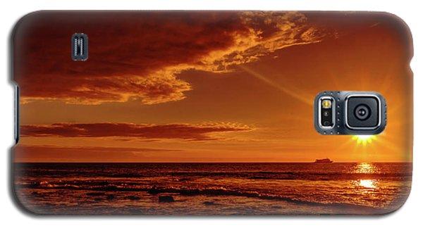 Friday Sunset Galaxy S5 Case