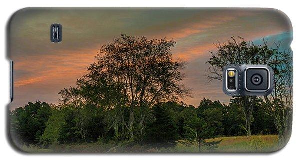 Pine Lands In Friendship Sunrise Galaxy S5 Case