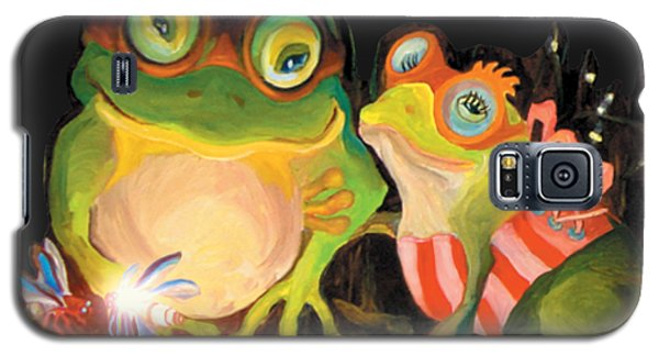 Frogs Overlay  Galaxy S5 Case