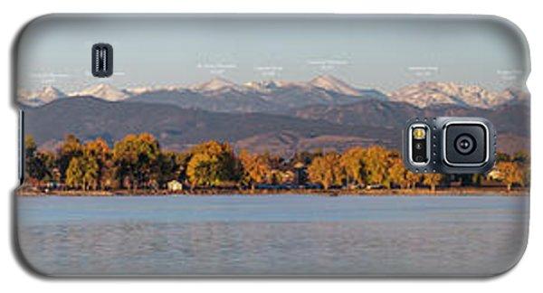 Audubon Galaxy S5 Case - Front Range With Peak Labels by Aaron Spong