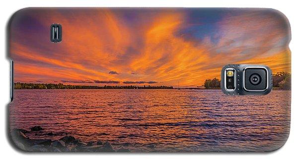 Frontenac Ferry Sunset Galaxy S5 Case