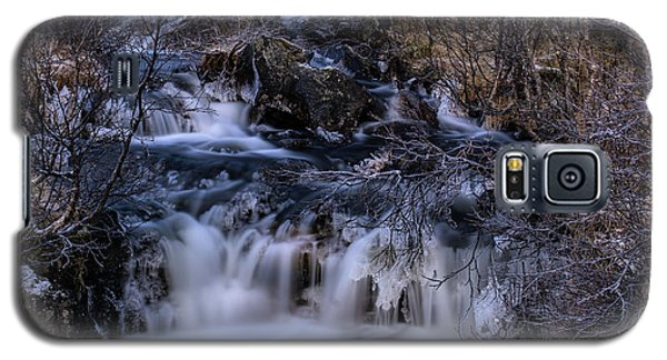 Frozen River In Forest - Long Exposure With Nd Filter Galaxy S5 Case