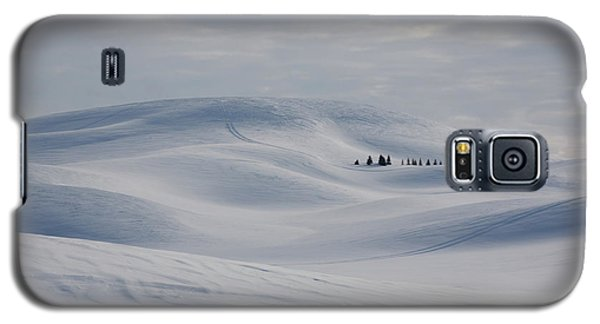 Frozen Winter Hills Galaxy S5 Case