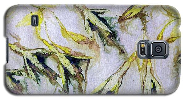 Fuchsia Eco Printed Magic Galaxy S5 Case