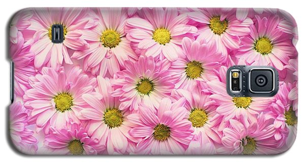 Full Of Pink Flowers Galaxy S5 Case