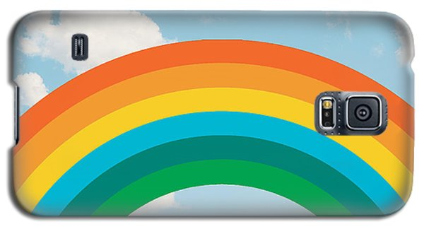 Funky Rainbow Ride Galaxy S5 Case