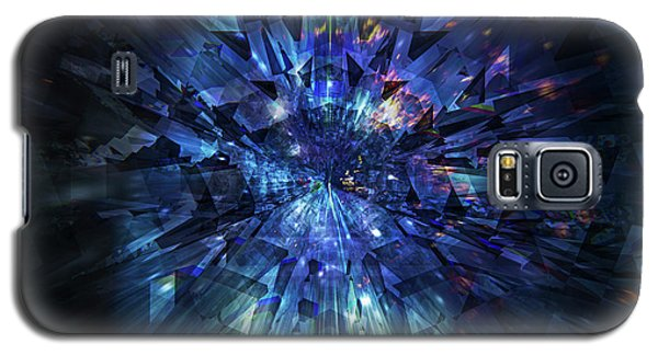 Galactic Crystal Galaxy S5 Case