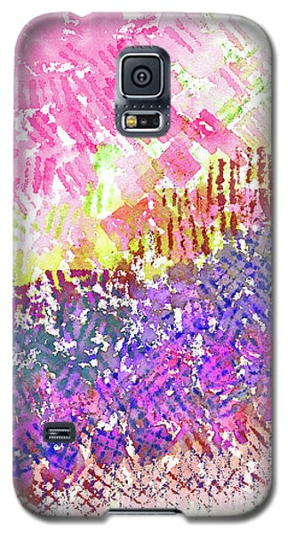 Garden Of Pink And Purple Galaxy S5 Case