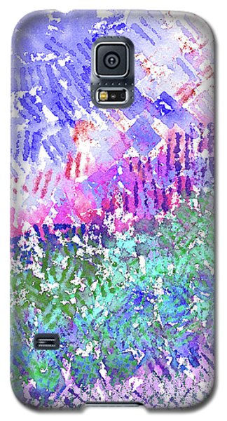 Garden Of Purple And Green Galaxy S5 Case