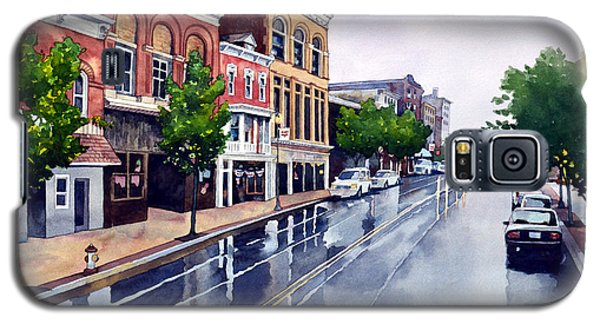 Gaslights And Afternoon Rain Galaxy S5 Case