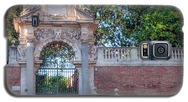 Galaxy S5 Case featuring the photograph Gated Entrance by Jacqui Boonstra