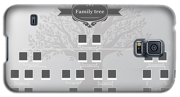 Branch Galaxy S5 Case - Genealogical Tree Of Your Family.hand by Galastudio
