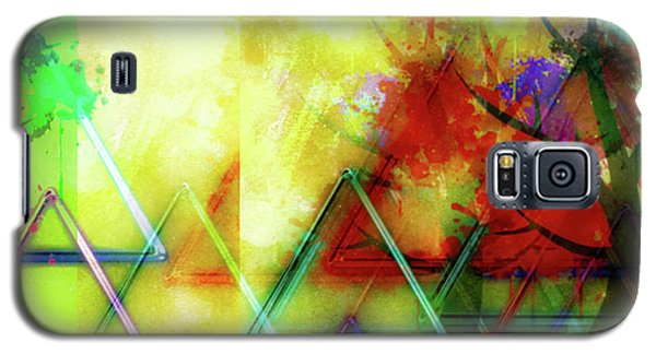Geometric Abstract Galaxy S5 Case