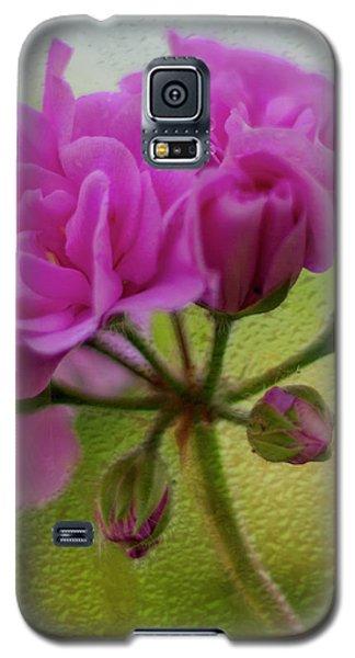 Geranium Rain  Galaxy S5 Case