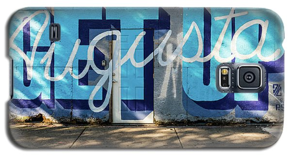 Get Up Augusta Ga Mural  Galaxy S5 Case