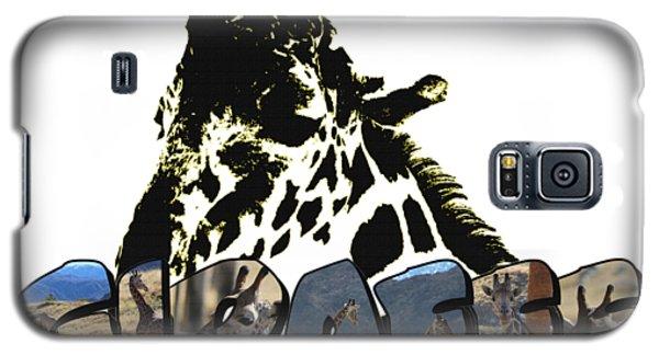 Giraffe Big Letter Galaxy S5 Case