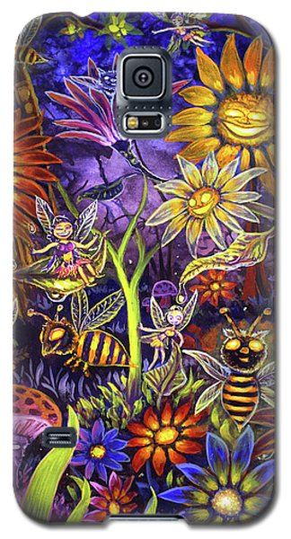 Glowing Fairy Forest Galaxy S5 Case