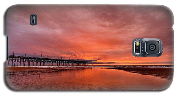 Glowing Sunrise Galaxy S5 Case