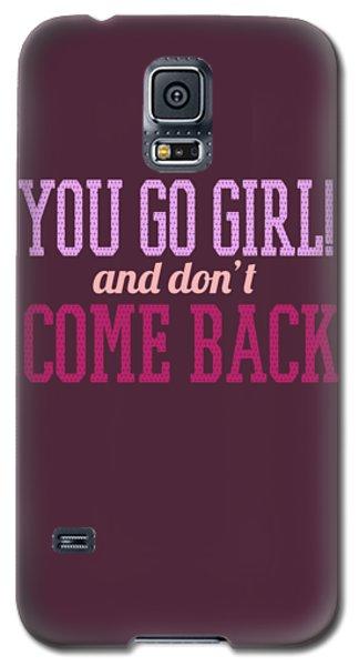 Go Girl Galaxy S5 Case