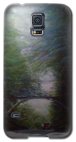 Going East Under The Forest Park Pedestrian Bridge Galaxy S5 Case