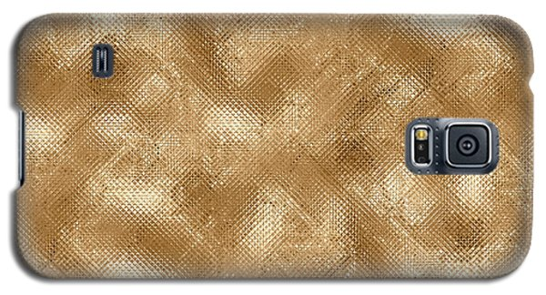 Gold Metal  Galaxy S5 Case