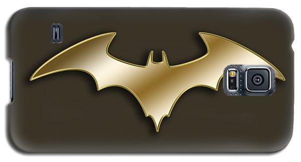 Golden Bat Galaxy S5 Case
