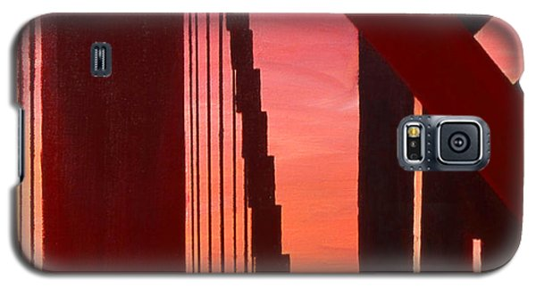 Golden Gate Art Deco Masterpiece Galaxy S5 Case