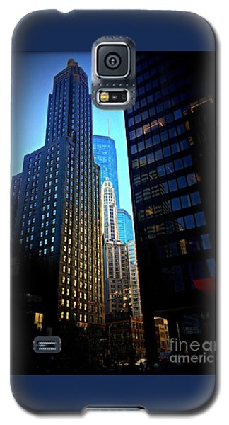 Golden Hour Reflections - City Of Chicago Galaxy S5 Case