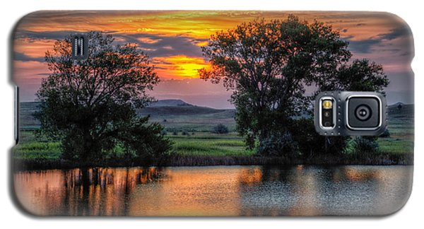 Golden Pond At 36x60 Galaxy S5 Case