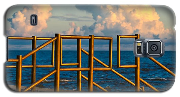 Golden Railings Galaxy S5 Case