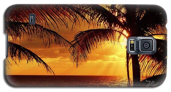 Golden Sunrise Galaxy S5 Case
