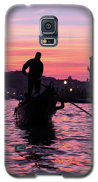 Gondolier At Sunset Galaxy S5 Case