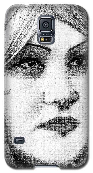 Goth Headshot Galaxy S5 Case