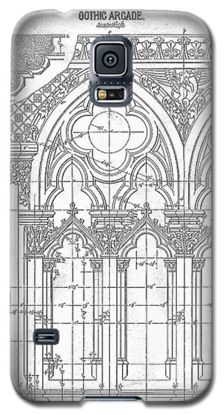 Gothic Arches Galaxy S5 Case