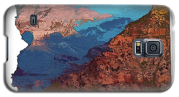 Grand Canyon In The Shape Of Arizona Galaxy S5 Case