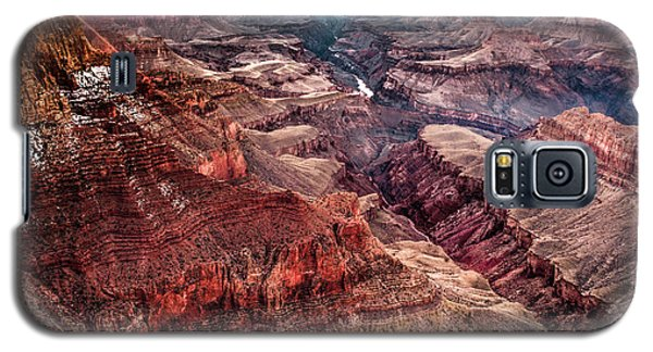 Grand Canyon Winter Sunset Galaxy S5 Case