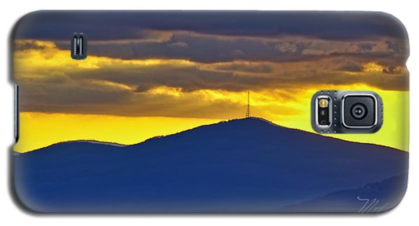 Grandmother Mountain Sunset Galaxy S5 Case