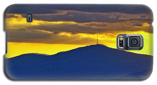 Grandmother Mountain Sunset Galaxy S5 Case