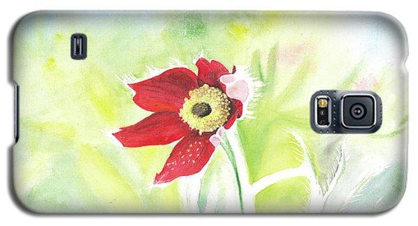 Granny Flower 3 Galaxy S5 Case