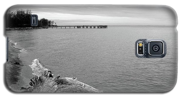 Gray Day On The Bay Galaxy S5 Case