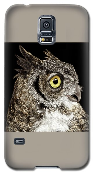 Great-horned Owl Galaxy S5 Case