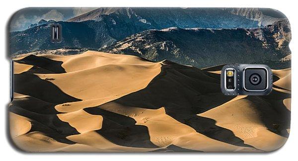 Sangre De Cristo Galaxy S5 Case - Great Sand Dunes National Park Colorado by Kris Wiktor