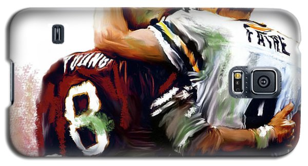 Greatness  Brett Favre And Steve Young  Galaxy S5 Case