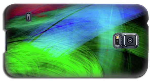 Green Cat Galaxy S5 Case