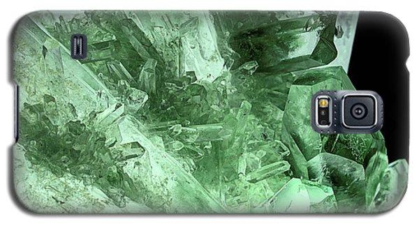 Green Quartz Crystals Galaxy S5 Case