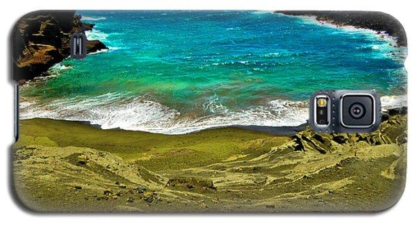 Green Sand Beach Galaxy S5 Case