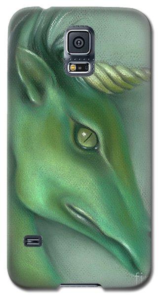 Green Water Horse Unicorn Galaxy S5 Case