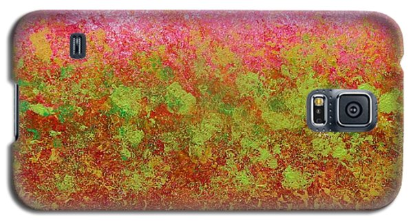 Greenery With Pink - Art By Cori Galaxy S5 Case