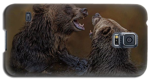 Grizzlies At Play Galaxy S5 Case